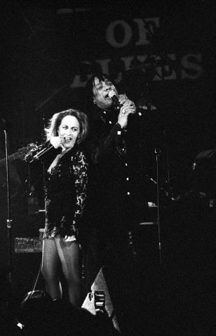 Teena Marie Performs With Rick James In Los Angeles