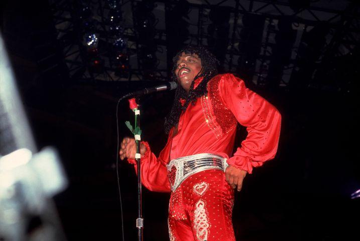 Rick James On Stage