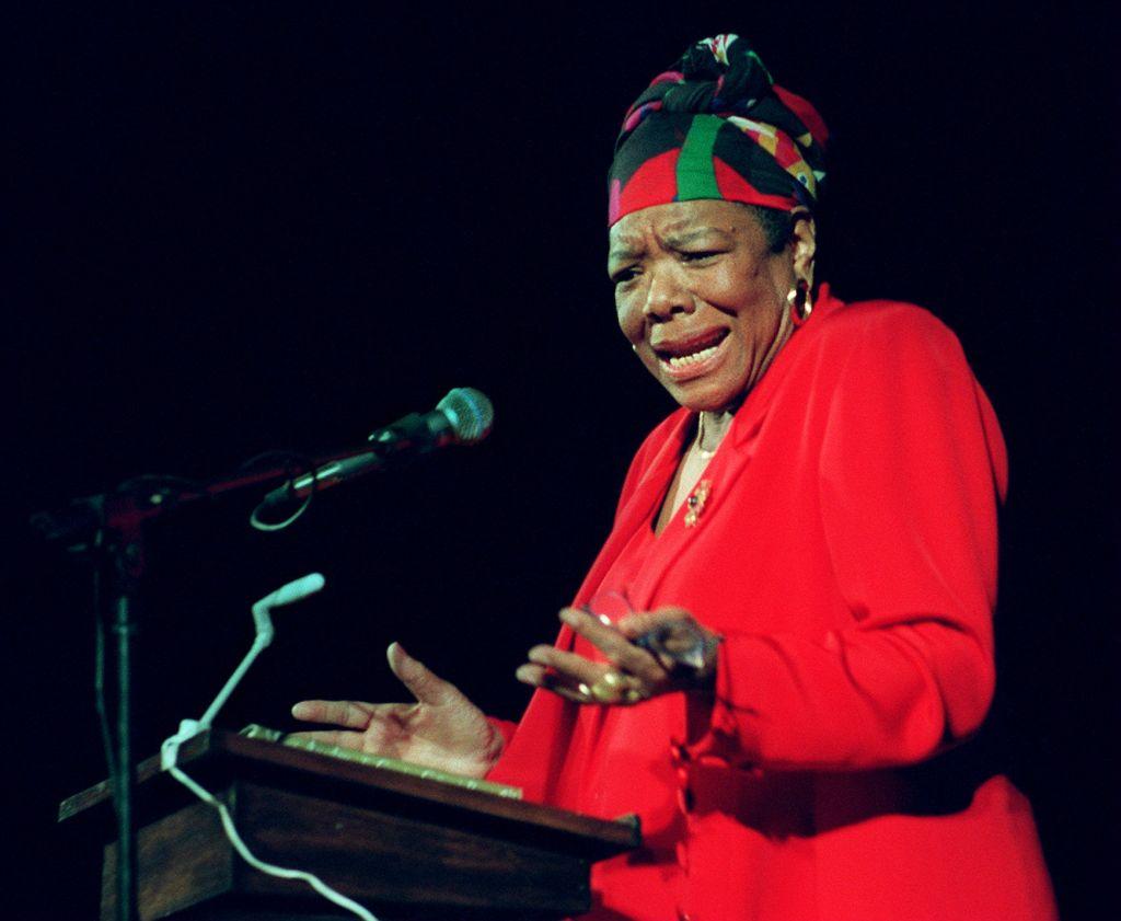 Maya Angelou At Tufts Unversity