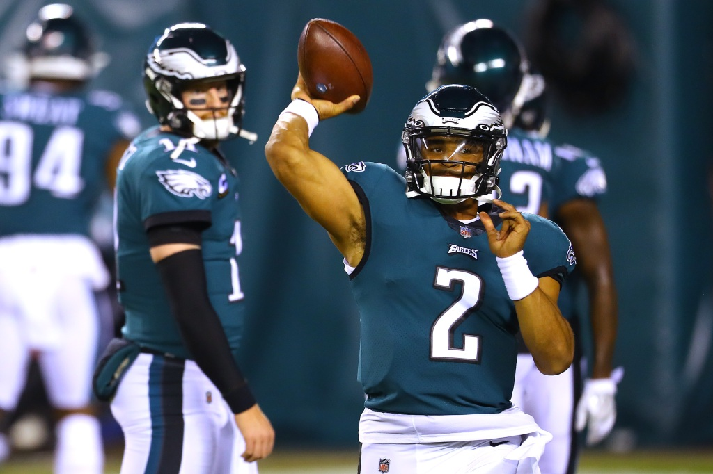 Eagles QB Jalen Hurts named starter